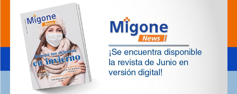 Ya está la revista de Junio!